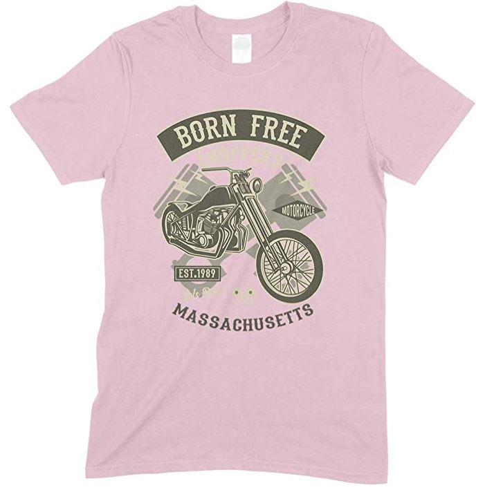 Born Free Choppers Massachusetts - Child's T Shirt Boy-Girl