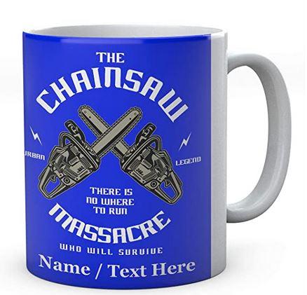 The Chainsaw Massacre There is No Where to Run-Ceramic Printed Mug