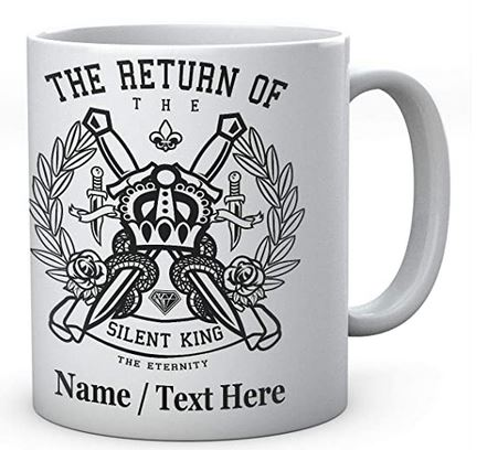 The Return of The Silent King The Eternity Crown- Personalised Mug