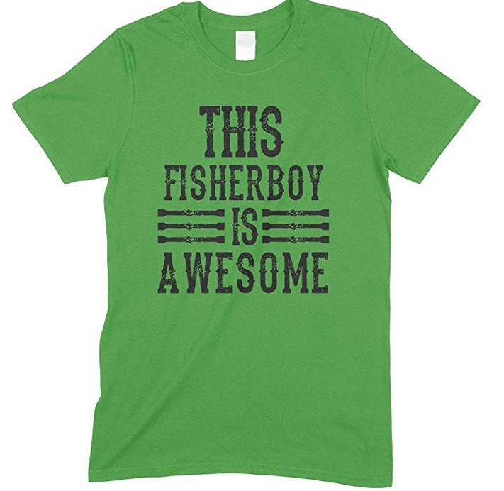 This Fisherboy Is Awesome - Child's T-Shirt
