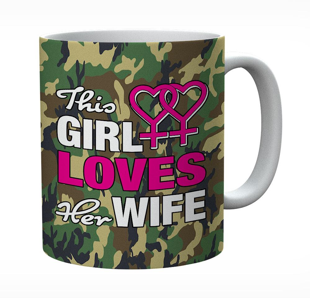 This Girl Loves Her Wife Mug