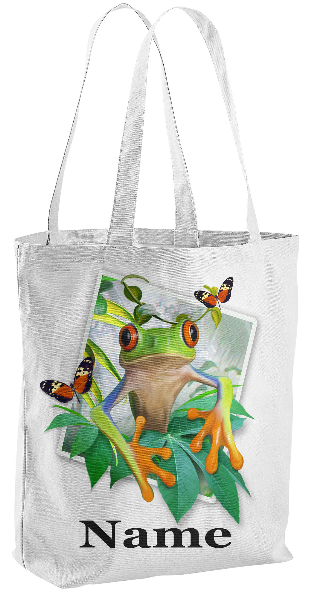 Tree FrogTote Shopping Bag