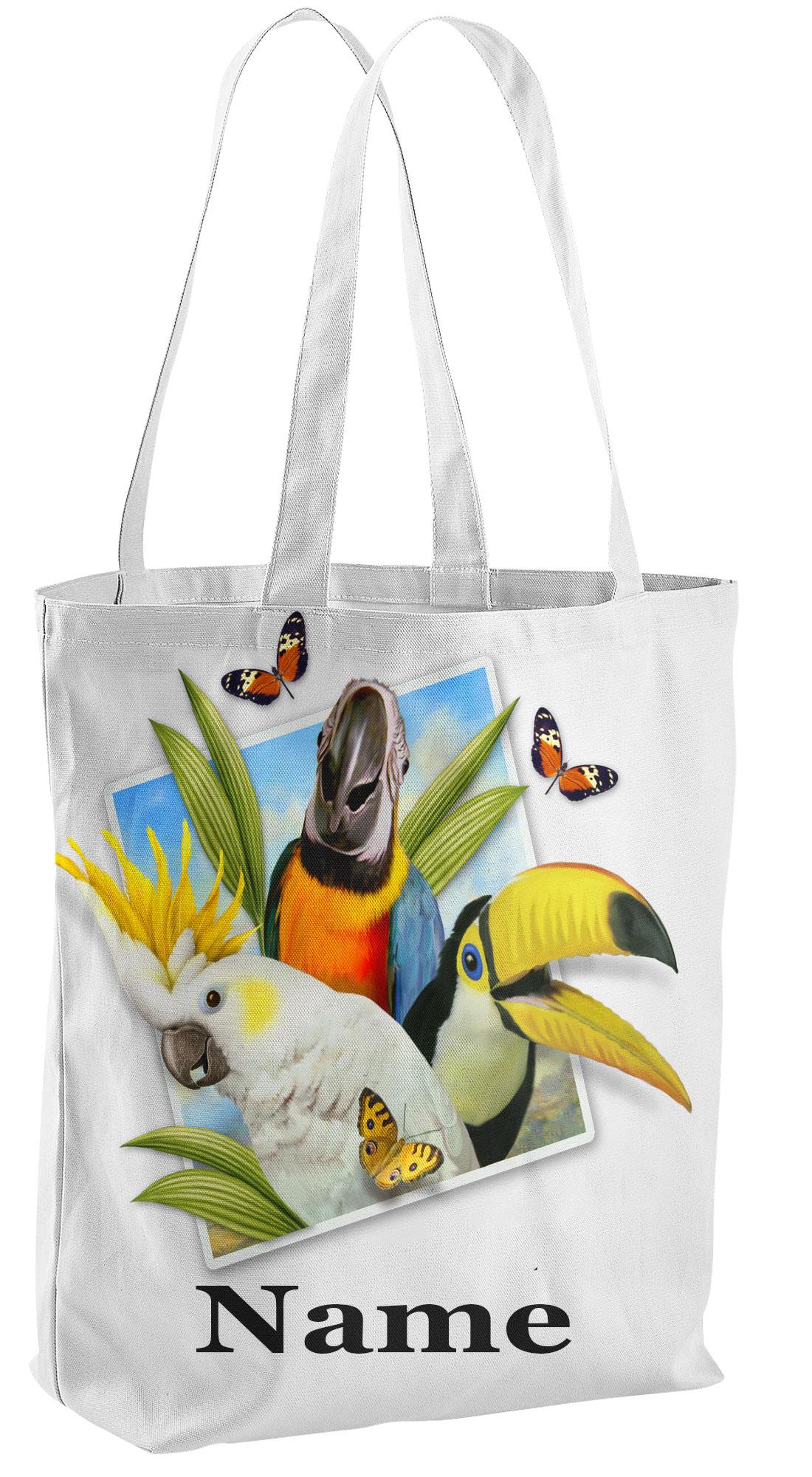 Tropical Tote Shopping Bag