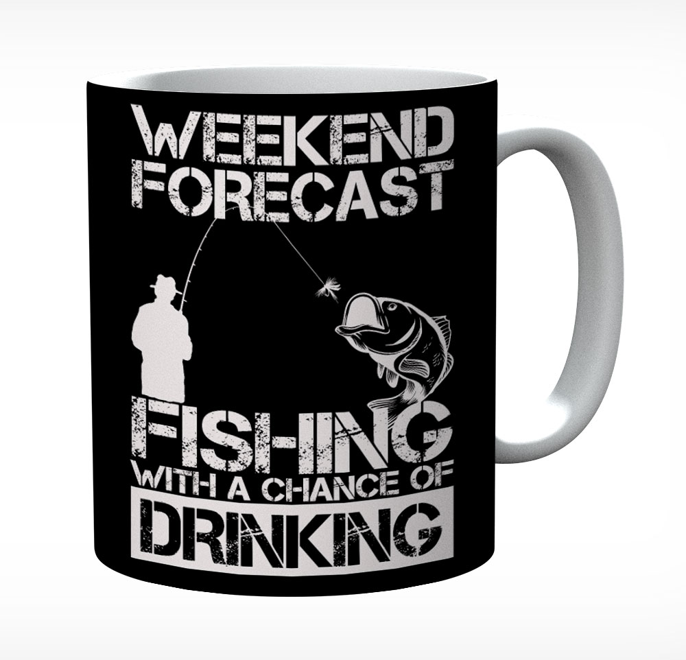 Weekend Forecast Fishing With A Chance Of Drinking