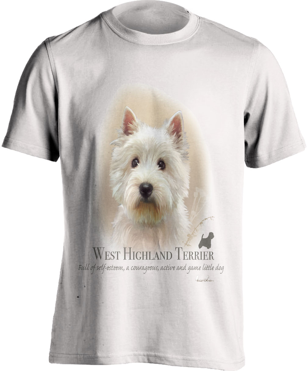 Westie Highland Terrier T Shirt