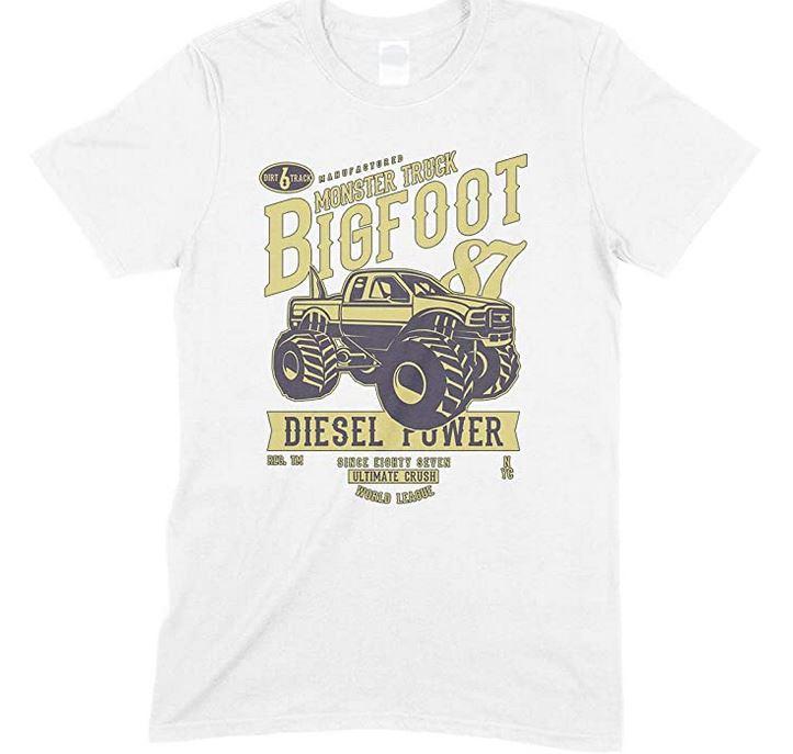 Monster TruckBig Foot Vehicle - Men's Unisex T Shirt