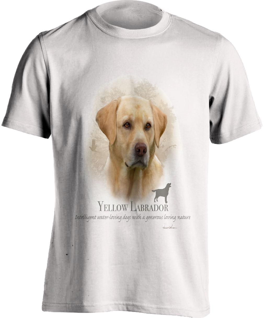 Yellow Labrador T Shirt