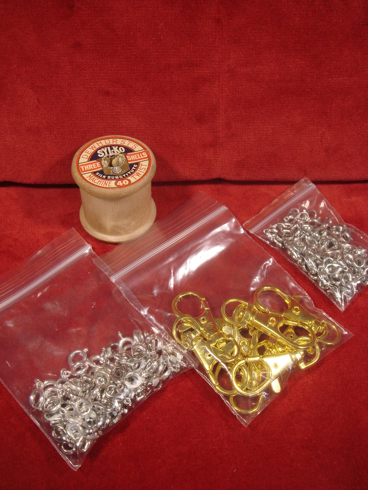 3 Bags of Various Fasteners/Clips